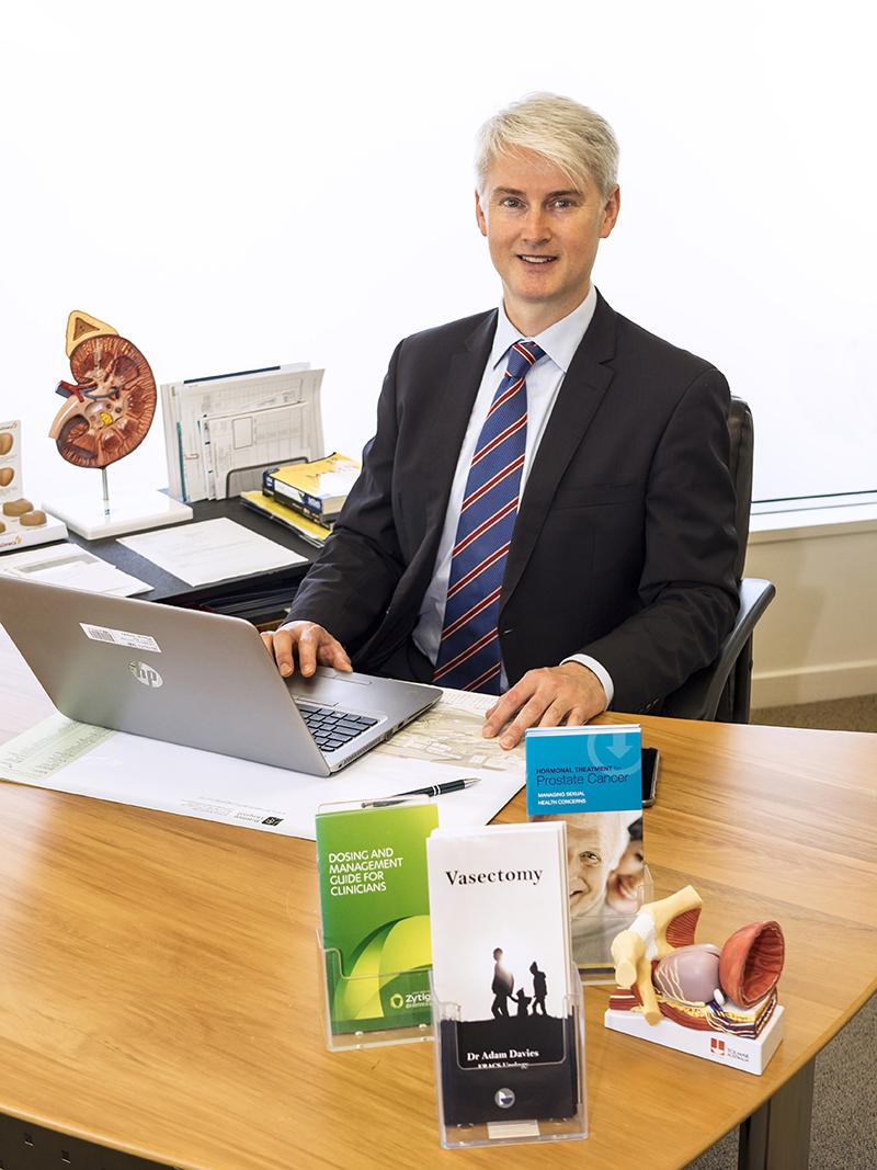 Adam Davies Urologist Hamilton
